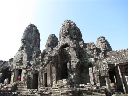 The Bayon, Cambodia 2009