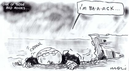 Sydney Morning Herald 20 February 2012 Moir Cartoon