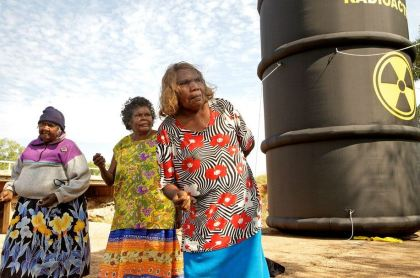 Muckaty nuclear dump photo by Jagath Dheerasekara.