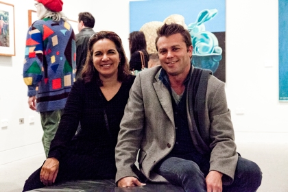 Tracey Moffatt and Peter Mack