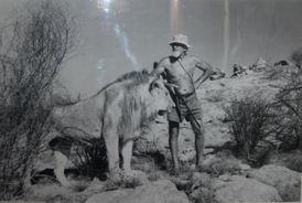 Christian and George Adamson