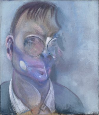 Study for portrait of Reinhard Hassert 1979 by Francis Bacon