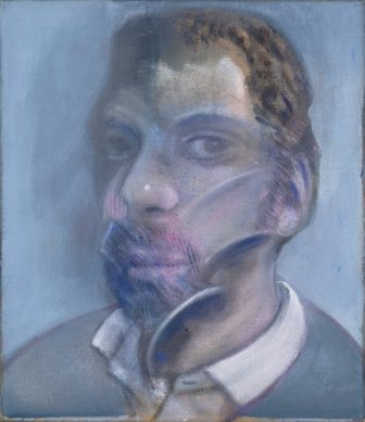 Study for portrait of Eddy Batache 1979 by Francis Bacon