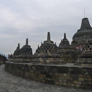Borobudur, Java photo by Ace Bourke