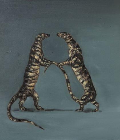 Lengthy Tales by Joanna Braithwaite Courtesy Darren Knight Gallery.