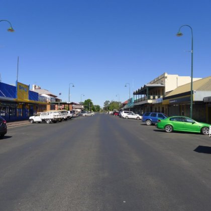 Downtown Bourke