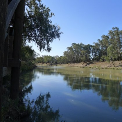 Darling River at Port of Bourke