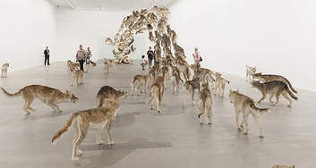 Head On by Cai Guo-Qiang, 2006