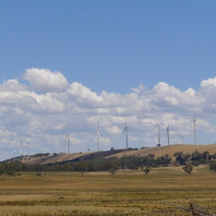 Wind farm, NSW