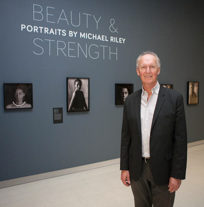 Ace in Michael Riley's exhibition Strength and Beauty, National Portrait Gallery, Canberra