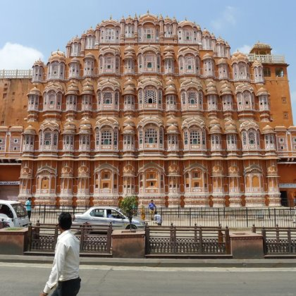 Hawa Mahal, built 1799, City Palace, Jaipur