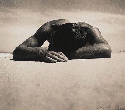 Sunbaker, (1937, printed 1970s), Max Dupain