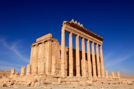 Temple of Ba'al, Palmyra. Photograph by David Forman.