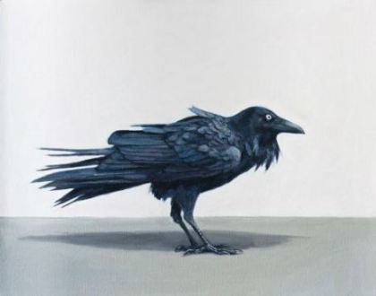 Raven by Zoe Tweedale, exhibiting at Robin Gibson Gallery, Sydney