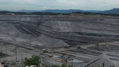 Bulga Coal Mine, Hunter Valley. Image sourced from The Australian.